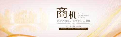 土豪风Banner