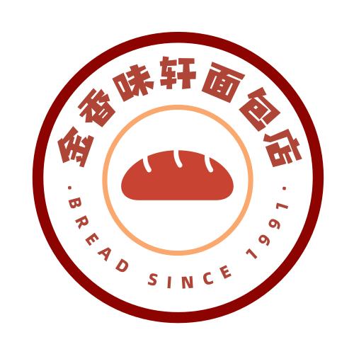 面包店logo